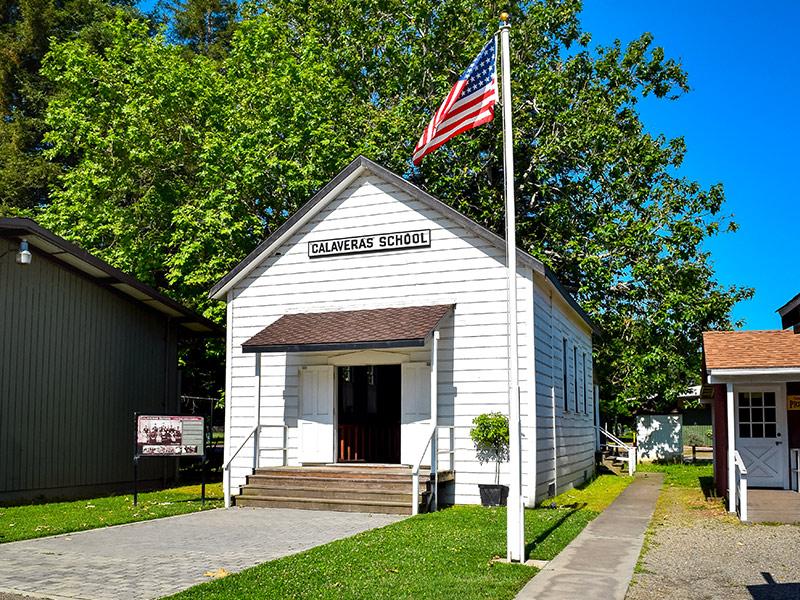 Calaveras School Building Exterior