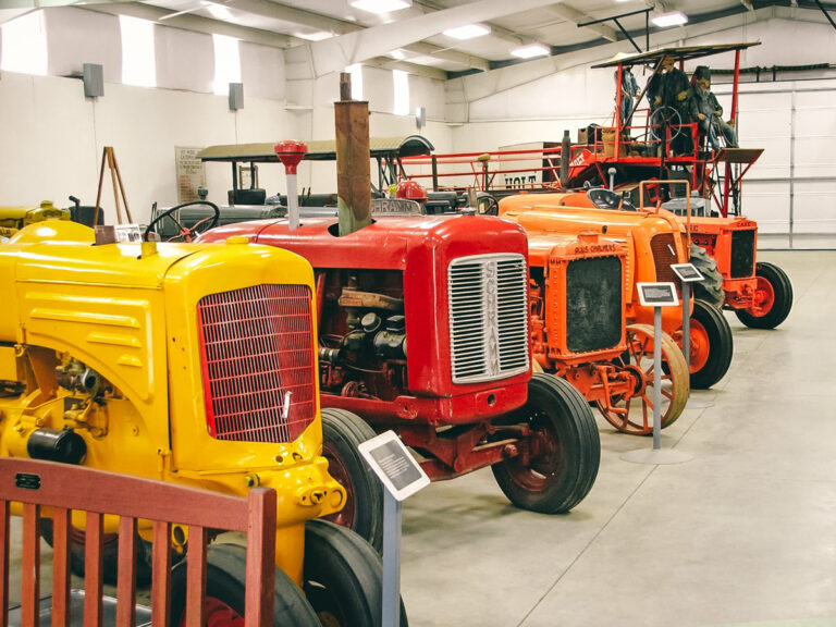 Rosen Building Tractor Exhibit