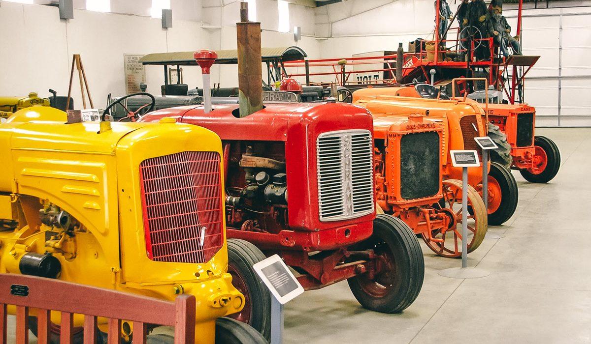 Rosen Building Tractor Exhibit